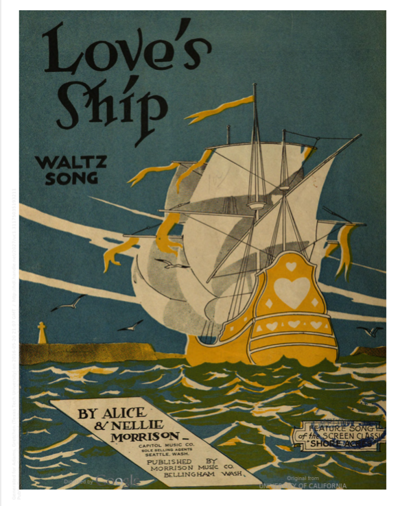 "Cover of song ""Love's Ship"""